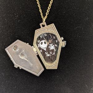 Jewelry - 🖤Jack Skellington Watch Pendant Necklace
